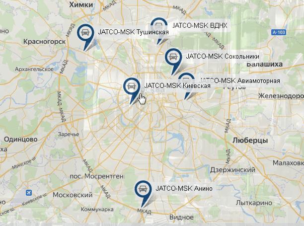 Jatco-MSK (Джатко-МСК) на карте